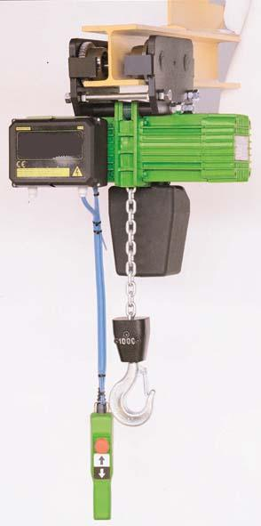 paranco elettricoa catena rwm  electric chain hoists