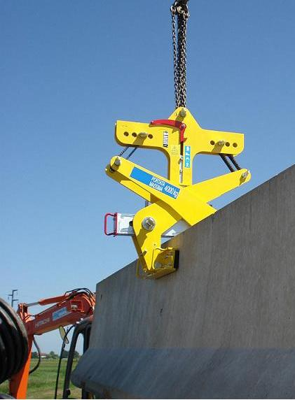 Clamps For Jersey Barrier Automatic Grippers For New