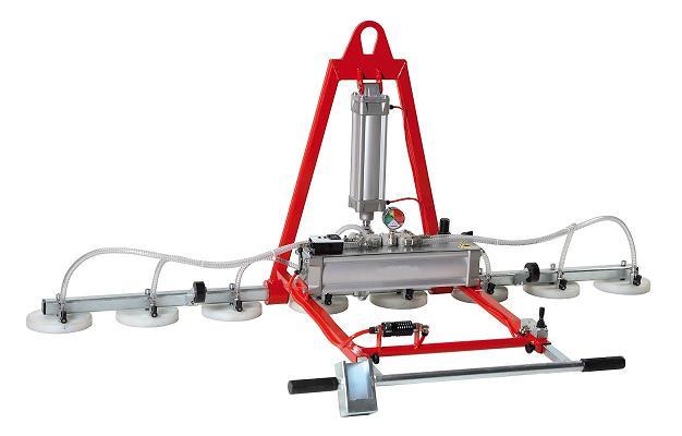 Adjustable height and width aluminum gantry cranes for Motorized rotating crane hook