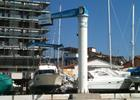 Jib crane electric rotation storage yacht and boats